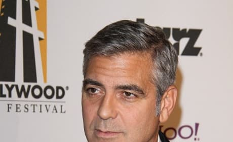 George Clooney Red Carpet Pic