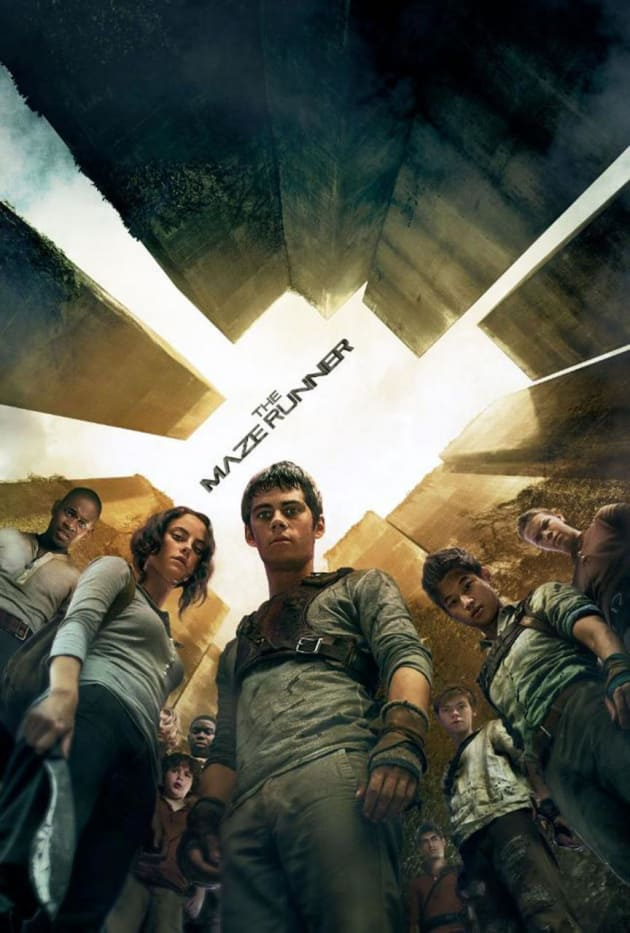 The Maze Runner Skyscape Poster
