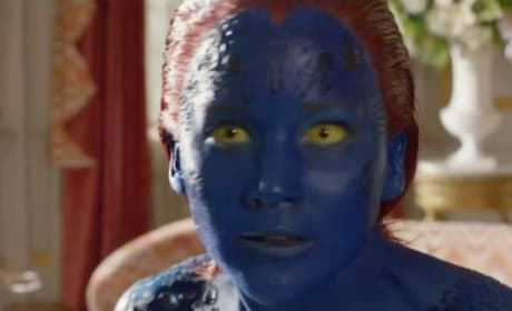 X-Men Days of Future Past Clip: Mystique Swings Into Action