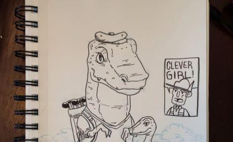 Jurassic Par Poster