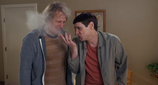 Jeff Daniels Jim Carrey Dumb and Dumber To Photo
