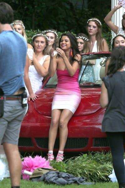 Selena Gomez First Day On Neighbors 2 Set Photo 5