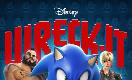 Wreck-It Ralph Sonic Poster
