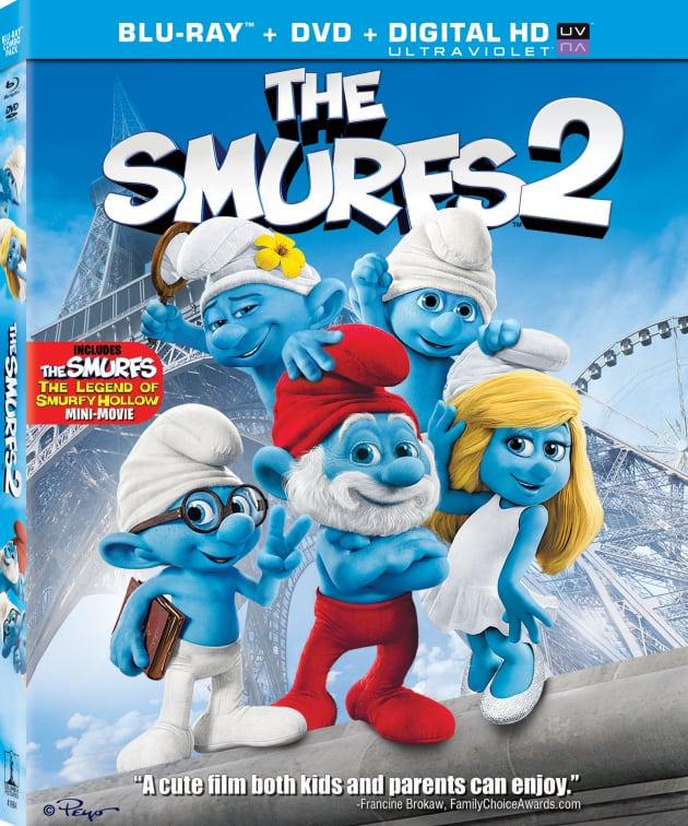 The Smurfs 2 DVD