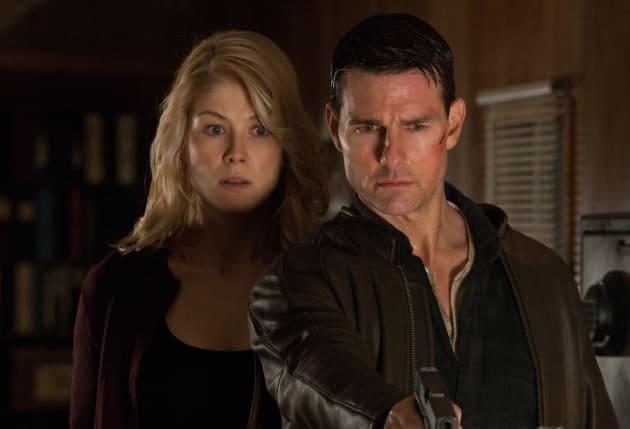 Tom Cruise and Rosamund Pike Jack Reacher