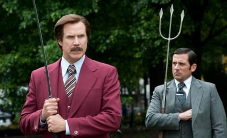 Anchorman 2 Will Ferrell Steve Carell