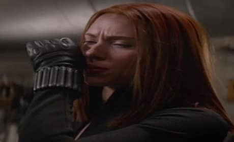 Captain America The Winter Soldier Clip: Black Widow in Action