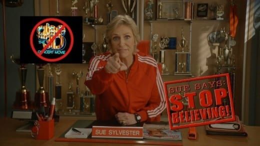 Sue Sylvester is Out to Destroy Glee