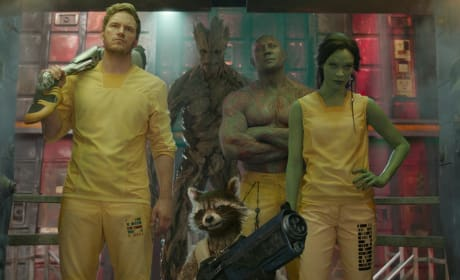 Cast of Guardians of the Galaxy
