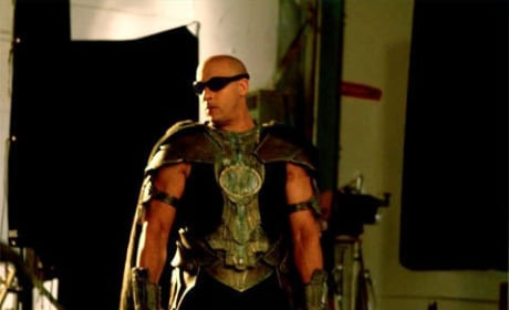 Vin Diesel Posts Photo From Riddick Set