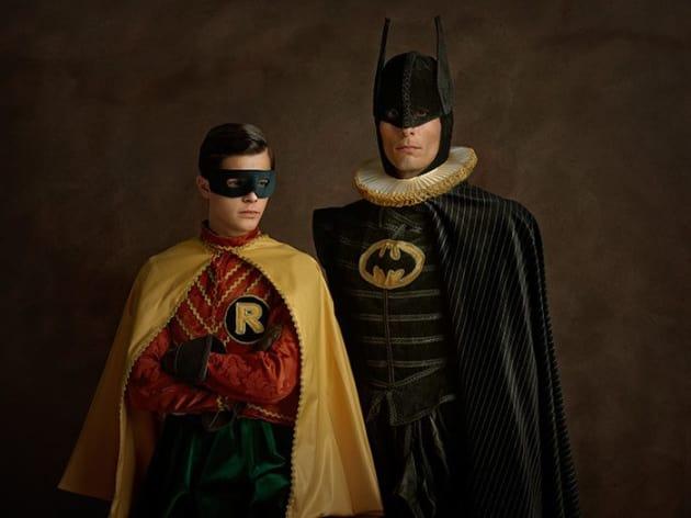 Batman and Robin Go Renaissance
