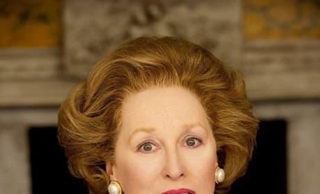 The Iron Lady is Meryl Streep