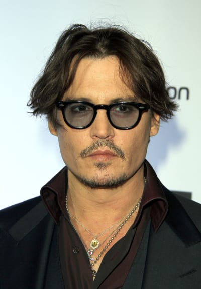 Photograph of Johnny Depp