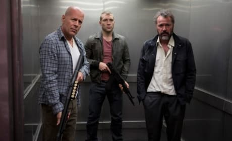 A Good Day to Die Hard: Bruce Willis Talks Blockbuster Franchise