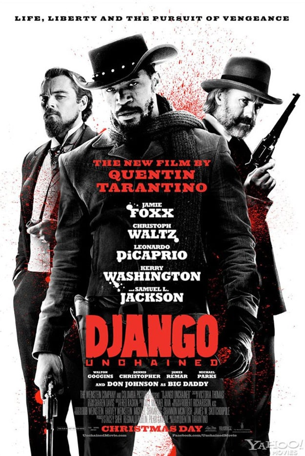 Movie Poster Django Unchained