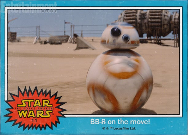 Star Wars The Force Awakens BB8