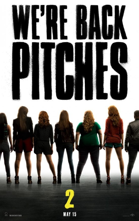 Pitch Perfect 2 Poster We Re Back Pitches Movie Fanatic