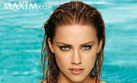 Amber Heard Poses for Maxim, Talks Pineapple Express