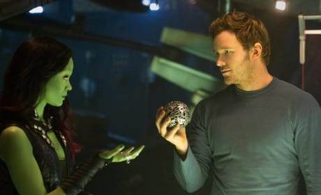 Guardians of the Galaxy Chris Pratt Zoe Saldana