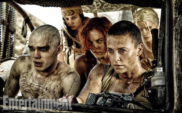 Mad Max Fury Road Charlize Theron Nicholas Hoult