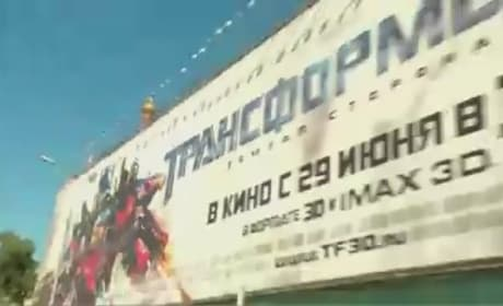 Transformers: Dark of the Moon Moscow Premiere Footage