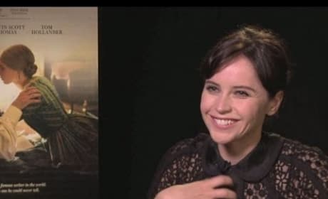 "The Invisible Woman: Felicity Jones Says Charles Dickens ""Understands Human Nature"""