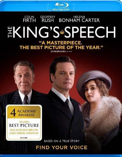 The King's Speech Blu-Ray Cover