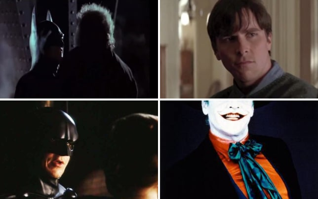 Michael keaton is batman