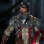 Captain America Full Suit
