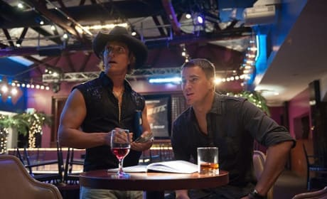 Matthew McConaughey and Channing Tatum in Magic Mike
