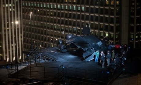 The Dark Knight Rises Goes Sky High: New Photo of Batwing