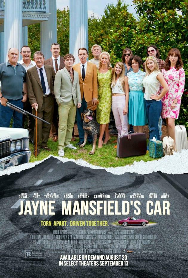 Jayne Mansfield's Car Poster