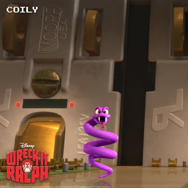 Coily Wreck-It Ralph