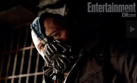 Tom Hardy is Bane in Dark Knight Rises