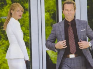 Gwyneth Paltrow Guy Pearce Iron Man 3