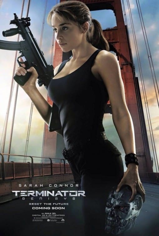 Terminator Genisys Emilia Clarke Character Poster
