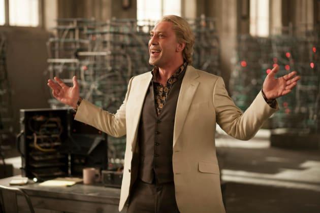 Javier Bardem Stars in Skyfall
