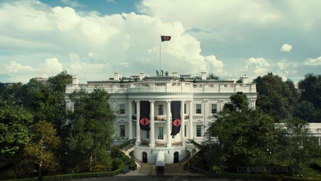 G.I. Joe Retaliation White House