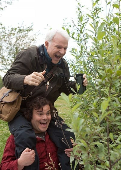 Steve Martin and Jack Black in The Big Year