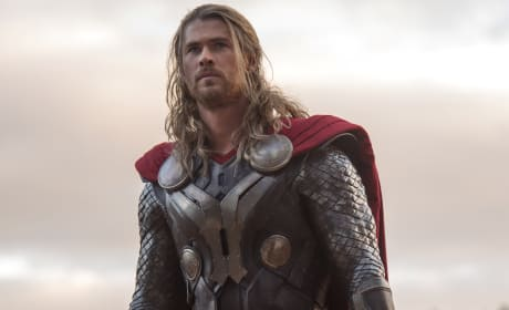 "Thor The Dark World: Chris Hemsworth Dishes ""Darker Side of Throne"""