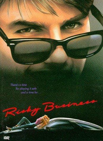 Risky Business Movie Poster