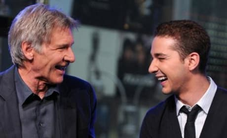 Harrison Ford and Shia LaBeouf on TRL