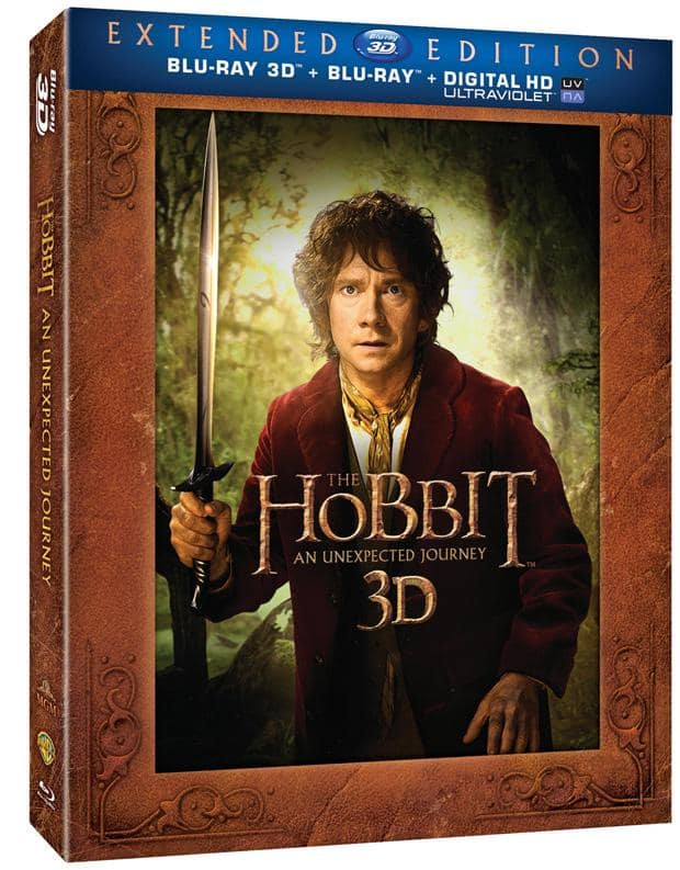 The Hobbit: An Unexpected Journey Blu-Ray Extended Version
