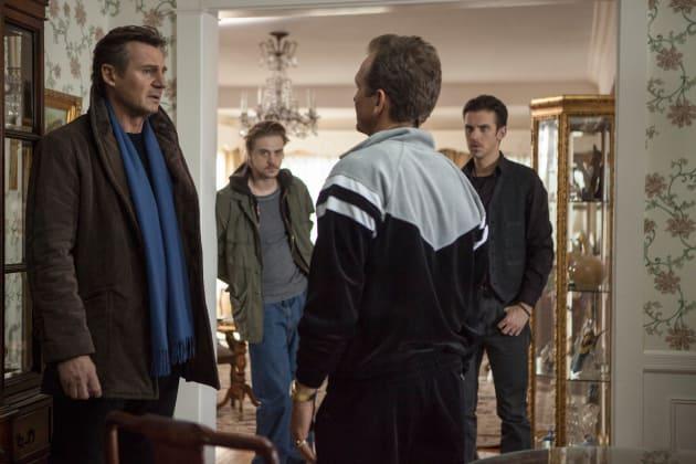 Liam Neeson Dan Stevens A Walk Among the Tombstones