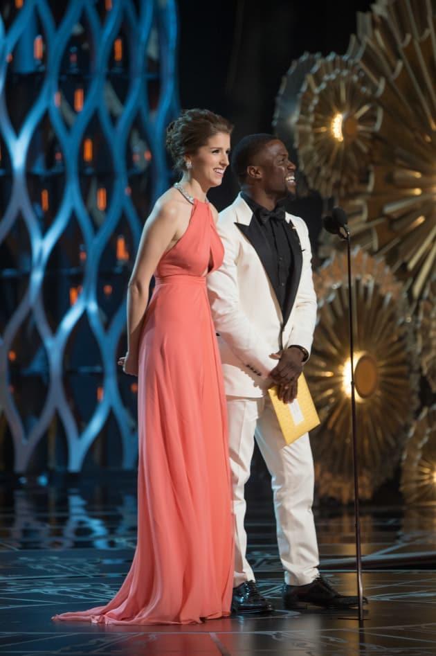 Oscars Anna Kendrick Kevin Hart