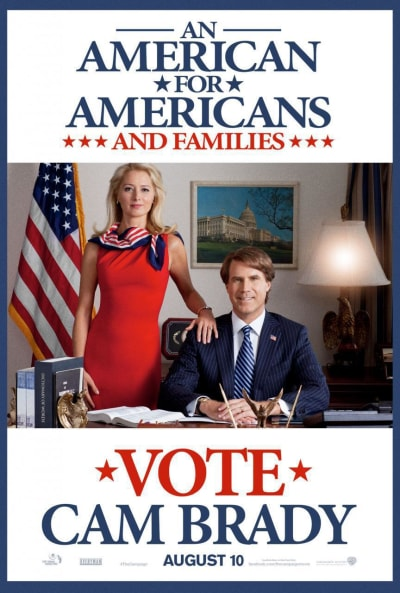 Will Ferrell Campaign Poster