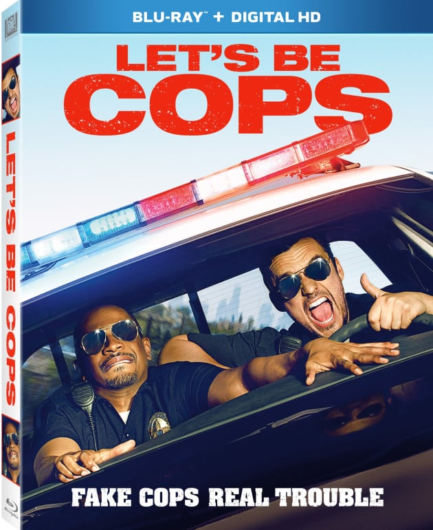 Let's Be Cops DVD/Blu-Ray Combo Pack