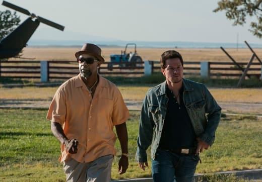 Mark Wahlberg Denzel Washington 2 Guns