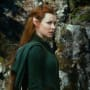 The Hobbit The Desolation of Smaug Stars Evangeline Lilly as Tauriel