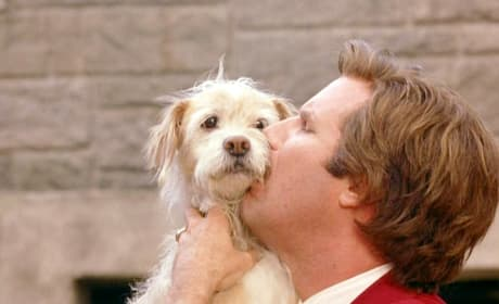 Ron Burgundy and Baxter